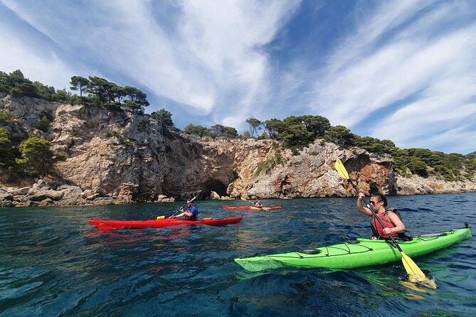 Koločep Island: guided kayak, swim & snorkle day tour