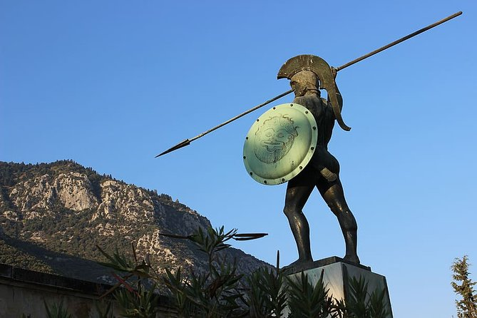 Discover Thermopylae & Delphi from Athens: Private Mythology One Day tour.
