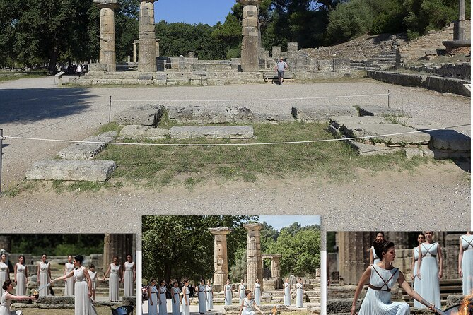 From Athens: Ancient Olympia and Corinth Canal all day Private Tour