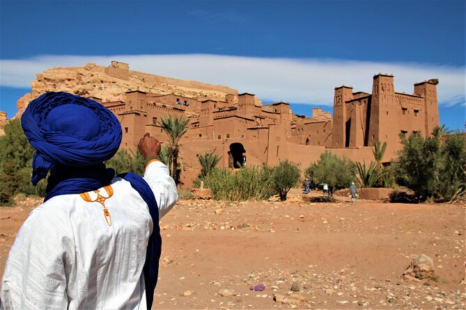 Day Trip from Marrakech to Ouarzazate visiting Ait Ben Haddou Kasbah