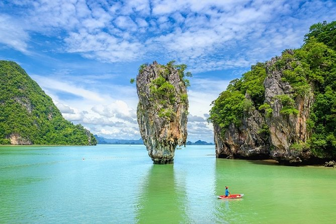 Full Day James Bond Island by Road + Longtail Boat