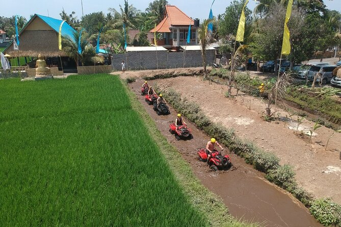 ATV Quad Bike and White Water Rafting Experience in Ubud