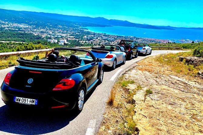 Seaside Tour in Jeep Beetle Cabriolet Marseille La Ciotat Cassis