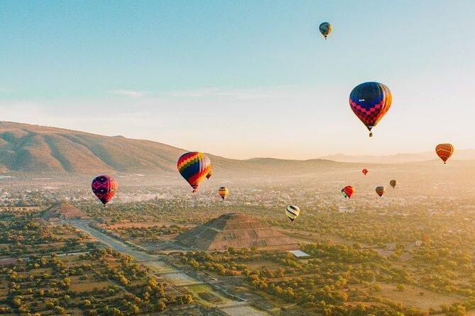 Balloon Flight Teotihuacan