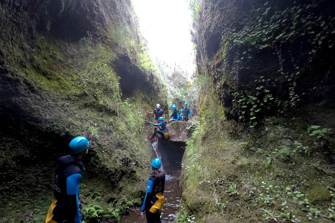 Canyoning in Madeira Island