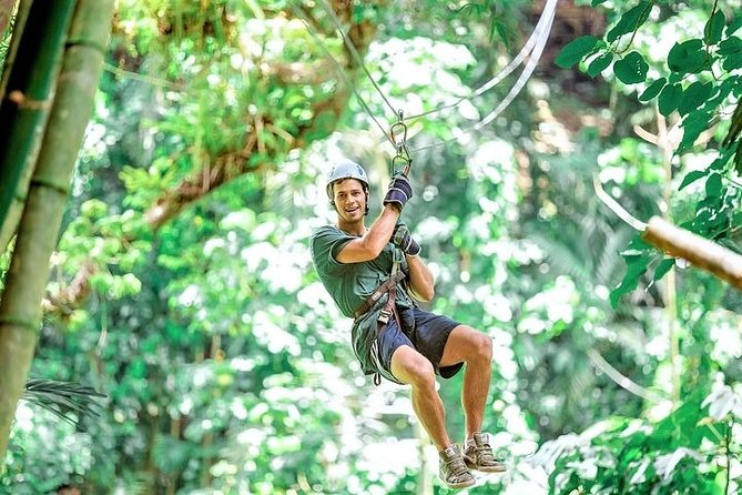 Montego Bay Zipline Canopy Admission at Chukka Jungle Outpost