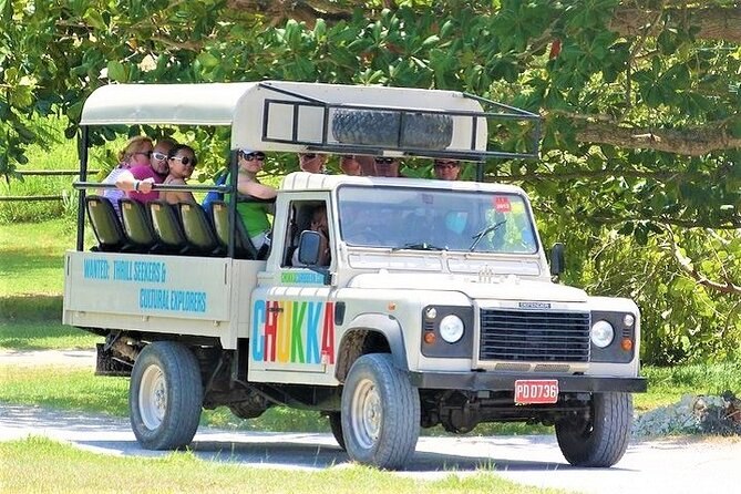 Off-Road Jeep Safari Adventure with River Walk from Montego Bay