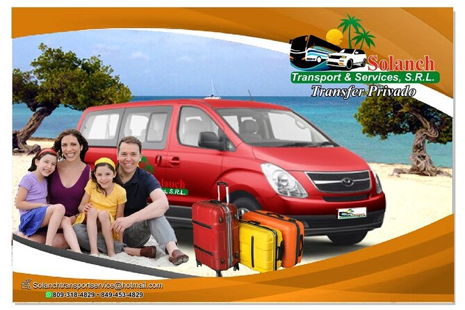 Round trip transfer from Punta Cana airport to Las Terrenas