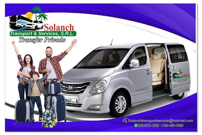 Private transfer from punta cana puj to boca chica and sto dgo airport