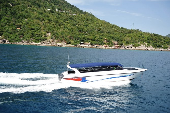 Koh Samui to Krabi post COVID-19 Transfer by Speedboat and Lomprayah Coach