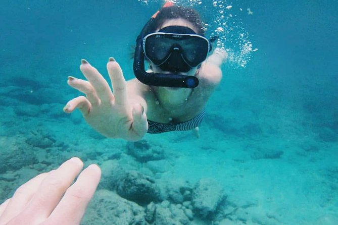 Blue Lagoon Snorkeling and Lunch with Visit Tukad Cepung Waterfall All-inclusive