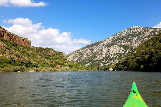 Private Half-Day Tour by Canoe of Cedrino Lake