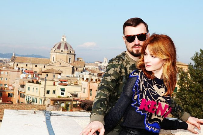 Photoshoot and Walk in the Center of Rome