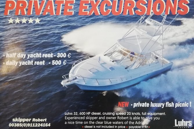 Private yacht tour Opatija