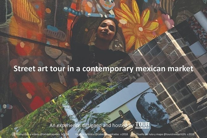 Discovering Street Art In a Contemporary Mexican Market