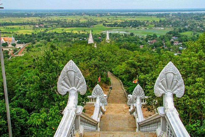 Full-Day Discover Oudong Mountain-Former Capital City & Phnom Penh City Tours