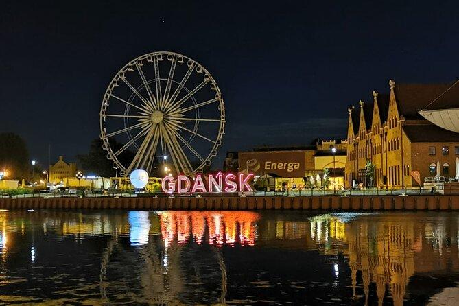 Gdansk by night - walking tour