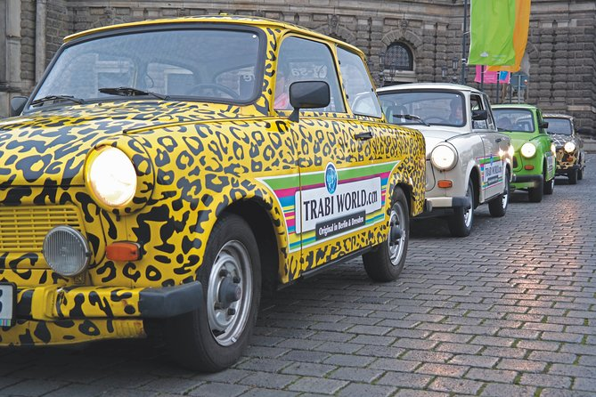 Dresden Live-Guided Self-Drive Trabi Safari City XXL Tour 2h15min