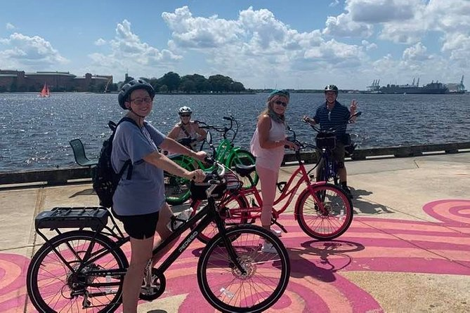 E-Bike Cannonball Trail Guided History Tour of Norfolk