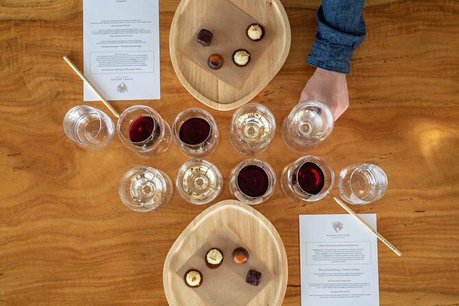 Wine and Chocolate Bonbon Tasting in Margaret River