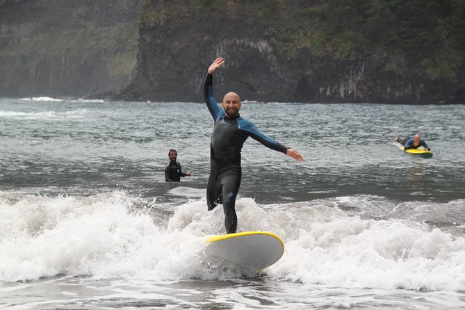 Surfing Lessons in Madeira