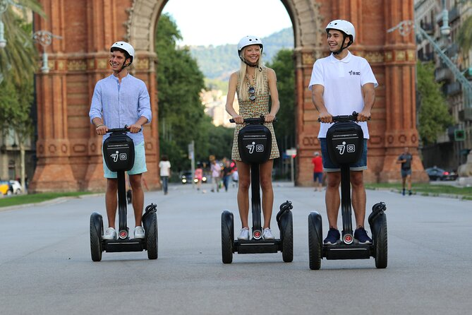 Barcelona 90-Minute Guided Segway Tour
