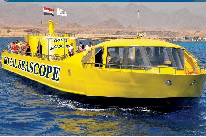 Sea Scope Semi Submarine Trip - Sharm el sheikh