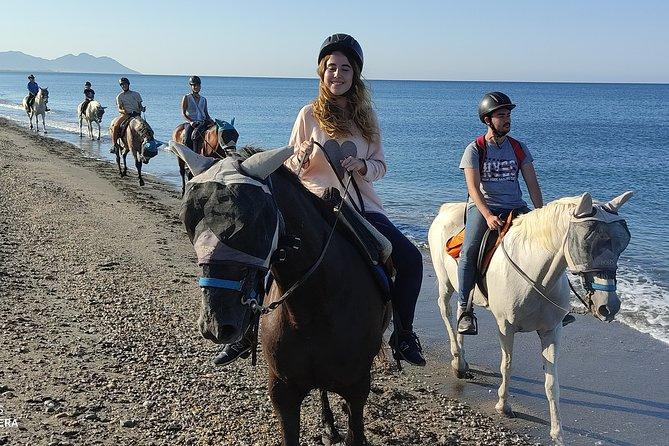 Ruta a caballo al amanecer por las dunas de Cabo de Gata