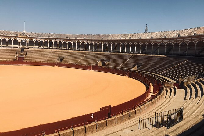 Guided tour: Plaza de Toros + Walking tour of Seville, direct entry.