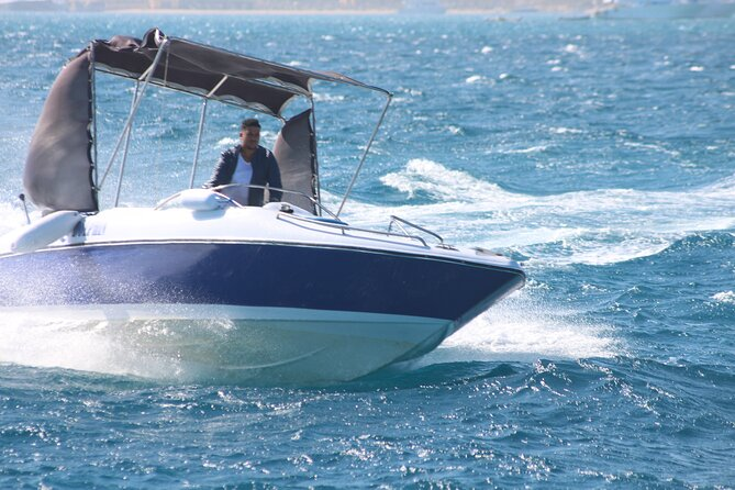 4 Hours Speed Boat to Abo Munkar Island & Water Sport Semi Private- Hurghada
