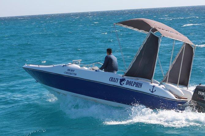 4 Hours Speed Boat to Abo Munkar Island & Water Sport Semi Private- Hurghada