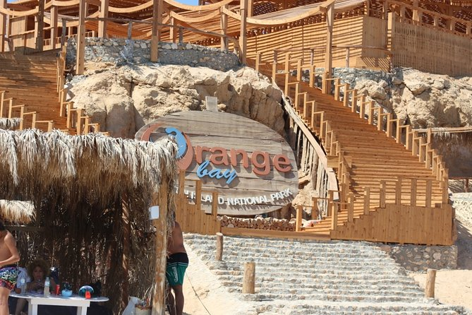Orange Bay Island By Private Speedboat & Snorkeling & Water Sport - Hurghada