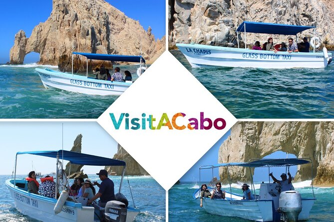 Land's End Tour in a Glass Bottom Boat (VisitA Cabo)