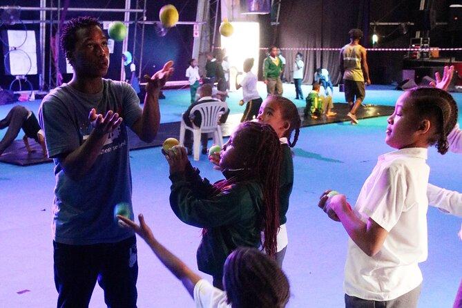Circus Arts class w/ Kids add-on