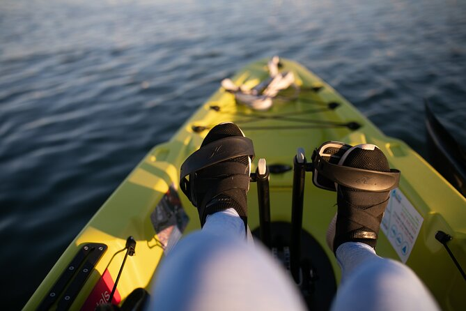Pedal Kayak Rental in San Diego Bay For Cruising and Fishing