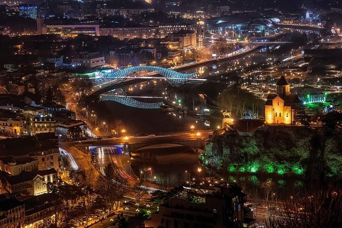 Evening Walking Tour in Tbilisi