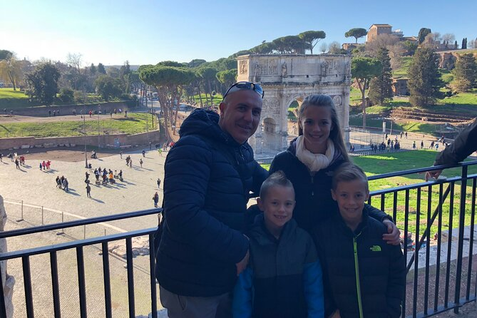 Colosseum & Ancient Rome private tour (no groups) skip the line tickets included