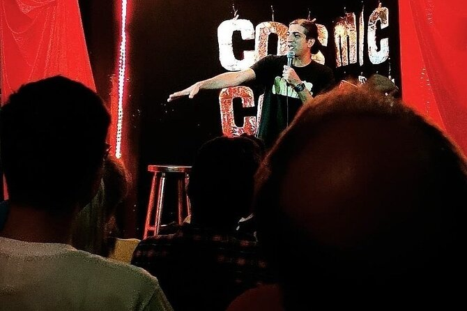 English Comedy Ticket including Pizza in Berlin Mitte