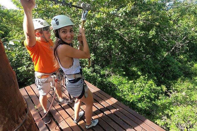 Selva Maya Eco Adventure Park: Ziplining, Hanging Bridges, Rappelling and Cenote