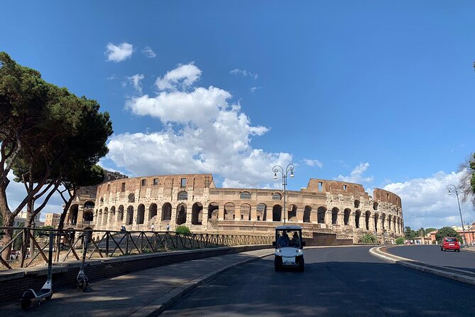 Rome by Golf Cart & Food Tasting