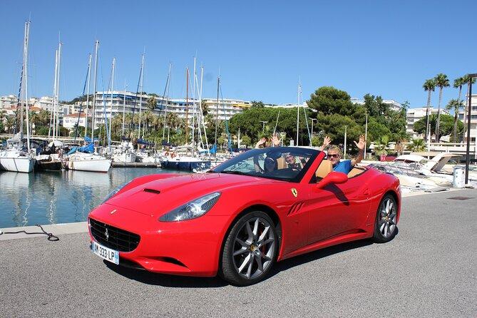 Private Cannes Ferrari Tour