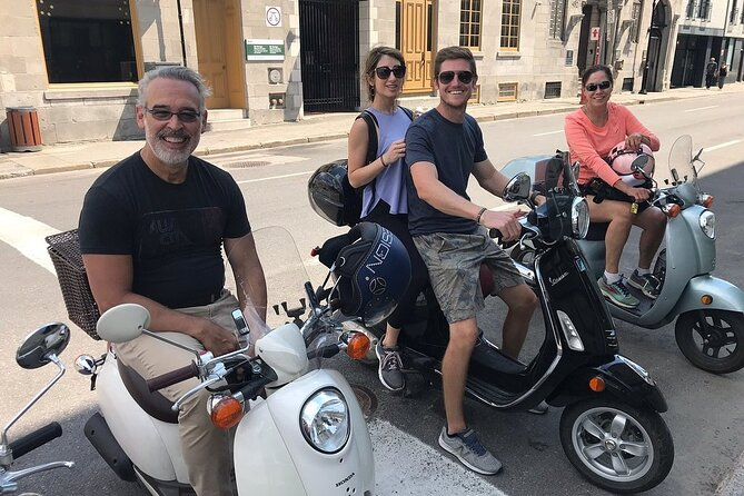 Highlights of Montreal a Guided City Tour by Scooter