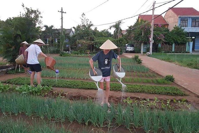 Hoi An Lantern Making Class and Silk Weaving- Vegetable Farming Private Tour