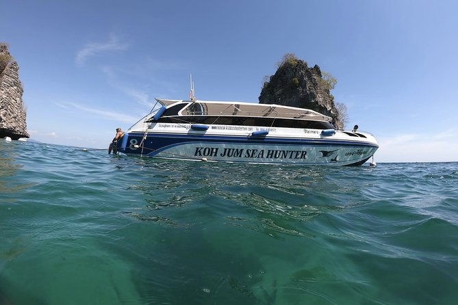 Snorkeling Tour to Twin Islands of Koh Rok and Koh Ha by Koh Jum Sea Hunter Tour