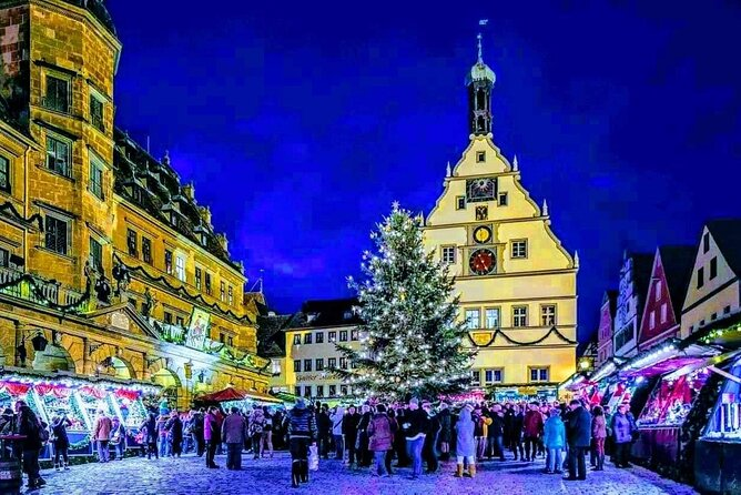 Magical CHRiSTMAS MARKETS along the ROMANTIC ROAD from Munich to Rothenburg o.d.T.