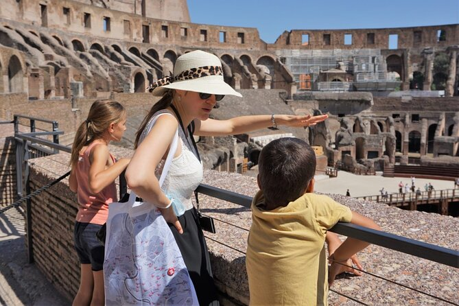 Private Rome Tour with Colosseum, Forum and The skip-the-line tickets