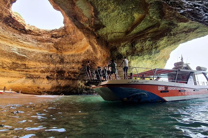 Adventure to the Benagil Caves on a Family Friendly Catamaran - Start at Lagos