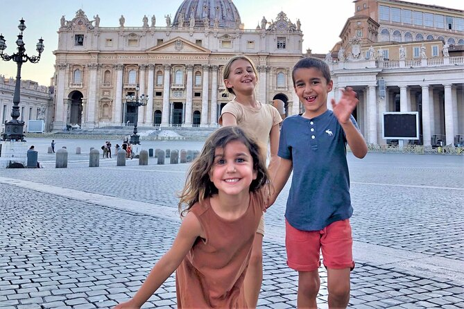 Private Vatican Tour with kids with Skip-the-lines tickets