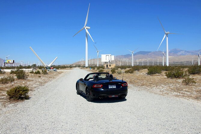 Palm Springs Windmill Self-Driving Tour Interactive Fun Safe