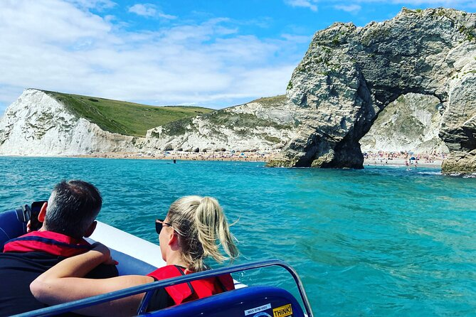Experience the Jurassic Coast - Private Boat Sightseeing Tour (For 8 People)